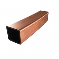 China Refrigerator Rectangular C11000 T2 Copper Nickel Pipe for industry wholesale
