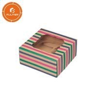 China Kraft Salad Deluxe Cake Box, Decorative Cake Box 250g OEM Service wholesale