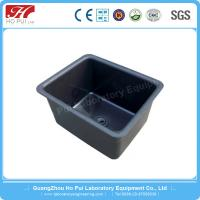 China PP Laboratory Industrial Sinks Black Large With Corrosion Resistance wholesale