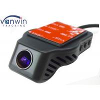 Round Night Vision 720P Car DVR  , Logger Camcorder BlackBox One year Warranty Manufactures