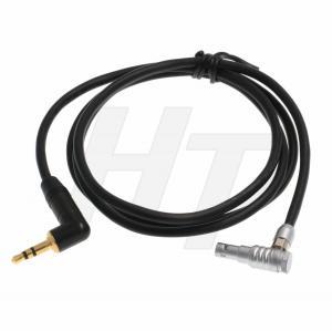 China 3.5mm 1/8'' TRS to Right Angle Lemo 00B 5 Pin Audio Cable for ARRI Alexa Mini Z CAM E2 wholesale