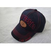 Buy cheap 6 Panel Fashion Printed Sports Hats For Men , Personalized Baseball Cap from wholesalers
