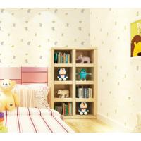 China Elephant Cartoon Household Children Room Wallpaper PVC Wallcovering Chinese Factory Modern wholesale