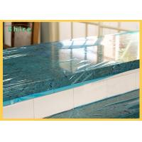 China Self LDPE Dust Barrier PE Temporary Protective Film , Plastic Marble Protective Film wholesale