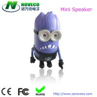 China Portable Mini Speaker System with Rechargeable Battery for Smartphones / Tablets / MP3 on sale