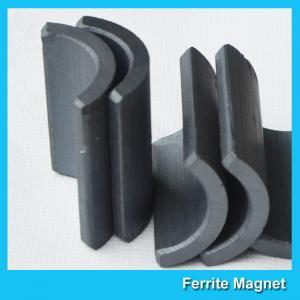 China Permanent Ferrite Arc Magnet R35.5*r28.5*61*80mm For DC Motor Multipurpose Use wholesale