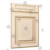 China Multi Color Solid Core Molded Doors , Melamine Engineered Wood Doors wholesale