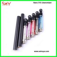 China Colorful Vision Nano 510 atomizer 1.8 ohm rechangeable coil 510 thread wholesale