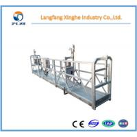 Quality zlp630 aluminum suspended hanging scaffolding / lifting platform / construction for sale
