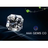 China VVS1 Fancy Loose Moissanite Diamond 8 mm With BV Certificate wholesale