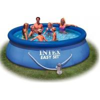 China Outdoor Round Inflatable Swimming Pools with filter for home backyard water games wholesale