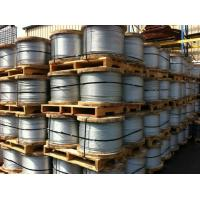 China 7/2.0mm EN 10244 Grade 700 Galvanized Stay Wire , Galvanised Steel Rope on sale