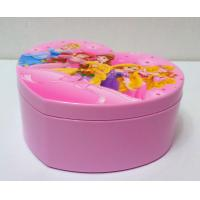 China HEART SHAPE JEWELRY BOX (OEM PRINTING IS WELCOME) wholesale