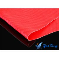 China 18OZ Double Sides Silicone Coated Fiberglass Fabric With Good Fireproof Performance wholesale