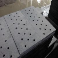 China China Granite Dark Grey G654 Granite Gutter Stone Drainage Paver Round Holes or Strip Hole wholesale