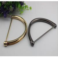 China Hot selling bag hardware high plating gold & gunmetal color clutch bag with handle wholesale