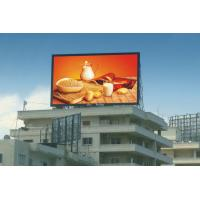 China Outdoor Full Color DIP P10 Led Illumination Panel Display Screen on sale
