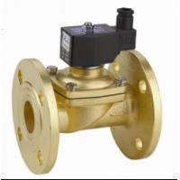 China Brass Electric Solenoid Air Valve Two Way Solenoid Valve DN15 ~ 50mm wholesale