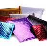 China Colorful Anti - Rub Metallic Bubble Mailers , Custom Logo Padded Mail Bags wholesale