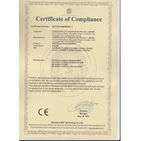 Dongguan City Chuhe Electric Co., Limited Certifications