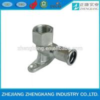 China Female Elbow Carbon Steel Threaded Pipe Fittings Customized Size Equal Shape wholesale