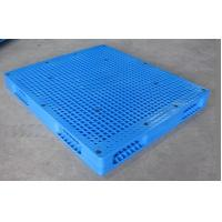 Large size with double face plastic pallets produced in China, steel tube inside pallets Manufactures