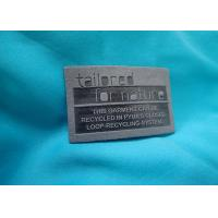 OEM Jeans Leather Label Custom Printed Embossed Leather Patch Manufactures
