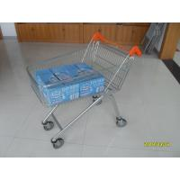 China Low Carbon Zinc Plated clear coating Steel UK Shopping Cart 100L wholesale