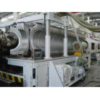 China Pvc Twin Wall Corrugated Pipe Extruder on sale