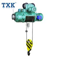 China IP55 Small Electric Wire Rope Hoists With Electric Jib Crane Compact Structure Fit Factories wholesale