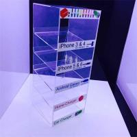 China Acrylic cell phone accessory display rack China Supplier acrylic mobile phone accessory di wholesale