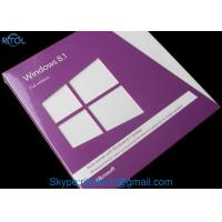 China Professional / Home Microsoft Windows 8.1 Professional Activation Product Key 64 Bit English Version on sale