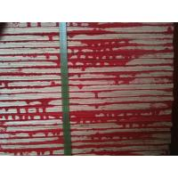 China Red waterproof paint construction plywood / waterproof plywood sheets for Concrete wholesale