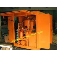China Mobile Transformer Oil Purifier, Insulation Oil Renewable Plant,filter 110KV more or less wholesale