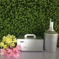 China Silver Large Area Air Aroma Diffuser With 4l Oil Bottle For Hotel Lobby wholesale