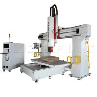 China 3d Pattern 5 Axis Cnc Router Machine  For Wood Cutting 11KW Imported Taiwan DELTA Inverter wholesale