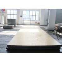 China Square Steel Heated Platen Press Melamine Plate Laminating 200 Mm - 9000 Mm wholesale