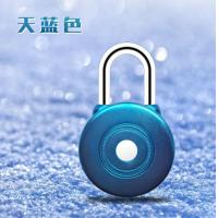 China Logistic Moss Code Real Time GPS Padlock GPS Car Tracker Smart Padlock 93*54*31mm wholesale