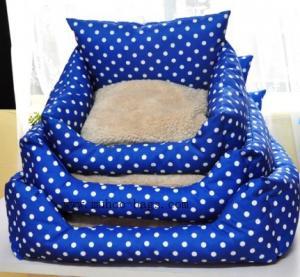 China dots pet bed ,dots pet cushion MH-2034 wholesale