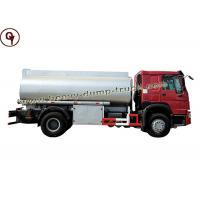 China Howo 4 By 2 Small Engine Oil Tanker Truck 10000 Liters Capacity Fuel Tank wholesale