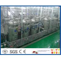 China Soft Beverage Industry Cool Drinks Making Machine 5000 - 6000BPH ISO9001 / CE / SGS wholesale