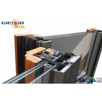 Windows Aluminium Extruded Profile 12 Micro Anodizing Thickness Manufactures
