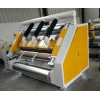 China Single Facer 2 Layer Corrugated Cardboard Machine 1600mm Suction Type wholesale