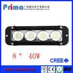 "China 8"" 40W Cree Led Light Bar! Single Row Light Bar for Jeep SUV 4X4 wholesale"