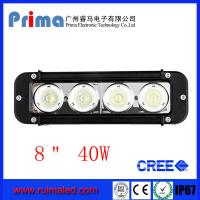 """Buy cheap 8"""" 40W Cree Led Light Bar! Single Row Light Bar for Jeep SUV 4X4 from wholesalers"""