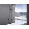 China Modern Design Rainfall Shower System , Luxury Shower System ROVATE Polished Chrome wholesale