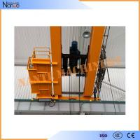 China 10 ton / 50 ton Dual Rail Electric Wire Rope Hoist Heavy Duty Winch Trolley wholesale