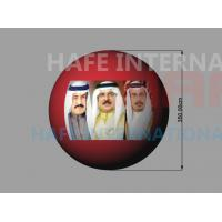 China 3.5m Arabia Events Helium Balloon , Middle East Celebrate Giant Light Up Balloons wholesale