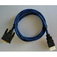 China HDMI To DVI Cable With 24K Gold Plated Connector 5Gbps High Speed 1080p HDMI Cables on sale