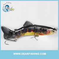 China multi jointed fishing lure trout swimbait underwater wholesale